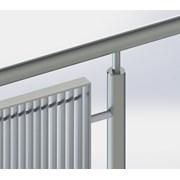 General Spectrum Balustrade System - Aluminium Grille Panels