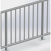 General Spectrum Balustrade System - Rail Infill Vertical