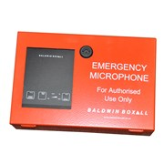 Emergency Fire Microphone