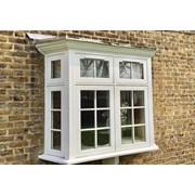 Traditional Flush Casement Timber Windows - Side Hung Next To Direct Glazed
