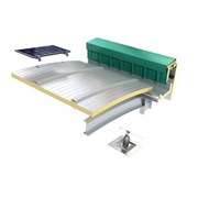 Curved Roof Insulated Panel
