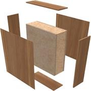 HALSPAN® Optima 54 mm Internal Fire Rated Door Blank - Unlatched Single Acting Double Doors With Overpanel