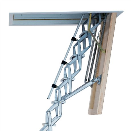 Supreme Heavy Duty Retractable Ladder with Insulated Loft Hatch