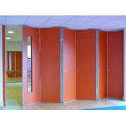 Kudos Sliding Folding Partitions centre folding single wing