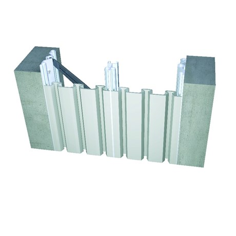 612 Series Wall To Wall, Ceiling to Ceiling Expansion Joint System