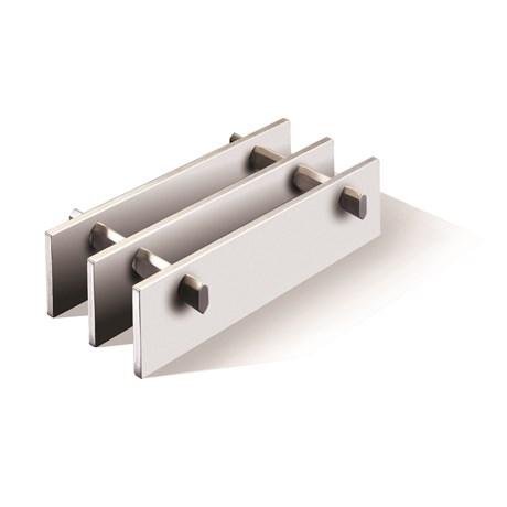 Flat bar decking grilles