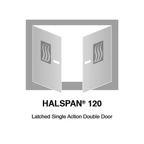 HALSPAN® 120 Fire Rated Interior Grade Door Blanks - Latched Single Acting Double Doors