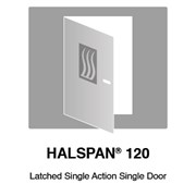 HALSPAN® 120 Fire Rated Interior Grade Door Blanks - Latched Single Acting Single Doors
