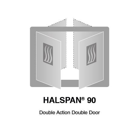 HALSPAN® 90 Fire Rated Interior Grade Door Blanks - Double Acting Double Doors