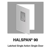 HALSPAN® 90 Fire Rated Interior Grade Door Blanks - Latched Single Acting Single Doors
