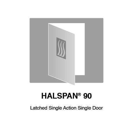 HALSPAN® 90 Fire Rated Interior Grade Door Blanks - Latched Single Acting Single Doors