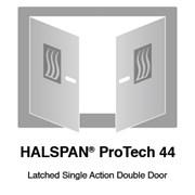 HALSPAN® ProTech 44m Interior Grade Door Blanks - Latched Single Acting Double Doors