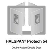 HALSPAN® ProTech 54 mm Interior Grade Door Blanks - Double Acting Double Doors