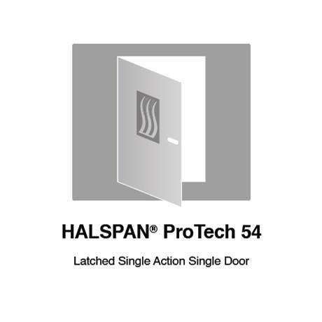 HALSPAN® ProTech 54 mm Interior Grade Door Blanks - Latched Single Acting Single Doors