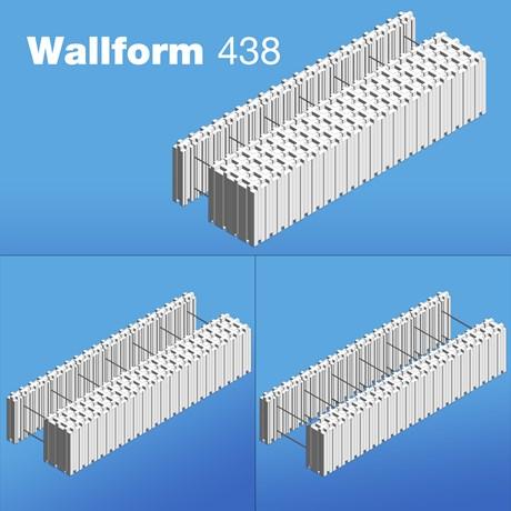 Wallform 438 ICF System
