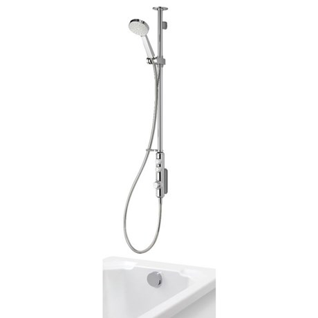 iSystem - Digital Concealed With Adjustable Head And Bath Overflow Filler
