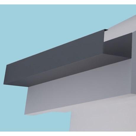Dales Delta 100 Aluminium Gutter