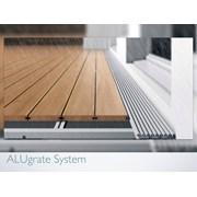 ALUgrate – Aluminium drainage grill system