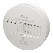 Kidde Mains-Powered CO Alarm with Rechargable Lithium Back-Up Battery