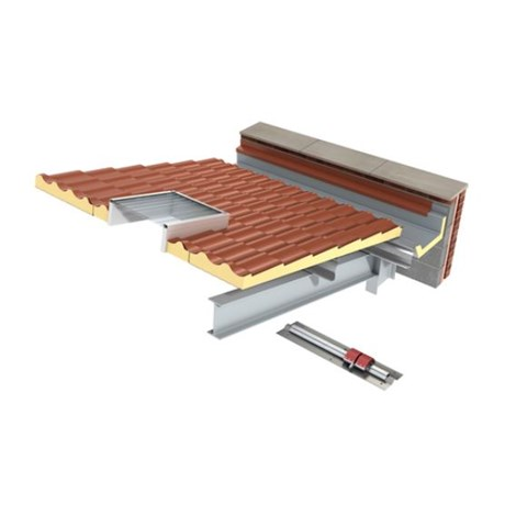 KS1000 LP Insulated Roof Panel System PIR - Steel