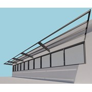 Shadex 260 Solar Shading System - Fixing within Steelwork
