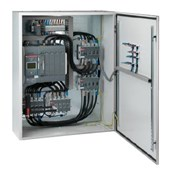 4 Pole Single Bypass ATS with S3. Blank door