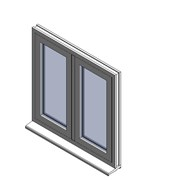 Heritage 2800 Flush Window - C56