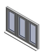 Heritage 2800 Flush Window - C57