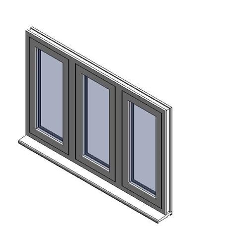 Heritage 2800 Flush Window - C57
