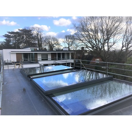 The Sliding Bi-Parting Rooflight - Bi-PartingOver Fixed