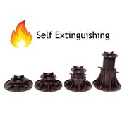 Adjustable Pedestals and Supports - Self Extinguishing