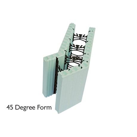 Nudura 45 Degree ICF unit