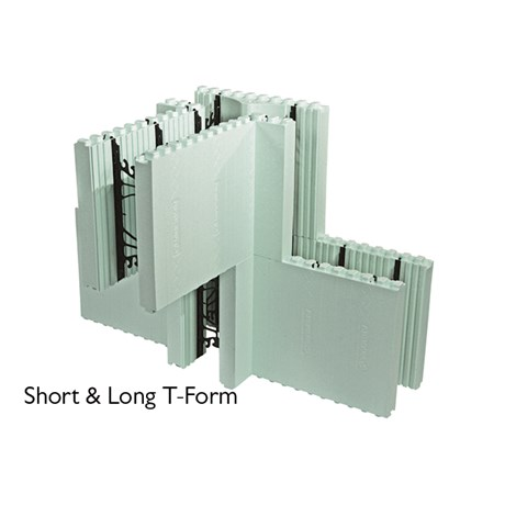 Nudura Short T-Form ICF Unit