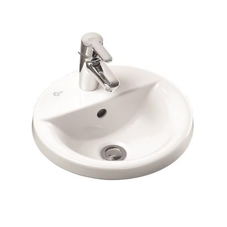 Concept Sphere 38 cm Countertop Washbasin -E500801 andE500901
