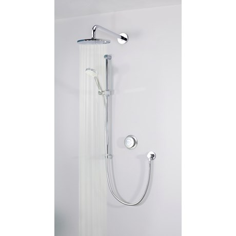 Quartz - Digital Concealed With Adjustable Head And Wall Fixed Drencher