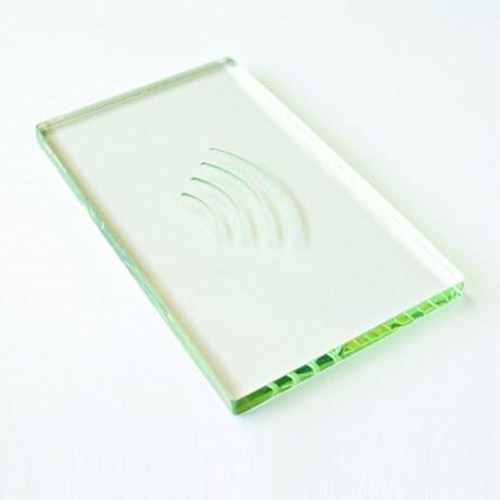 Reader insert - glass