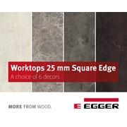 EGGER Worktops 25mm Square-edged