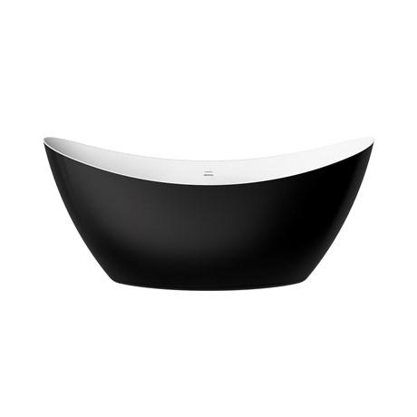 BOSTFS00BLK - Freestanding acrylic bath