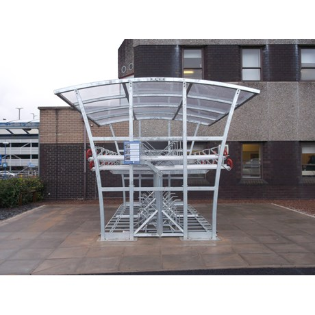 Brighton Double Two Tier Bike Shelter