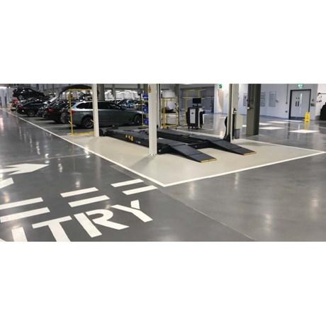 Resin flooring system FasTop SL45 SRA