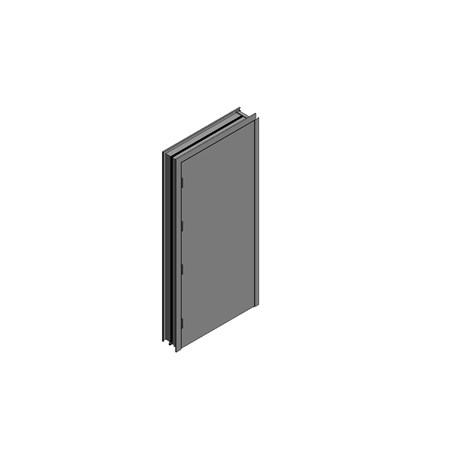 OUTA-DOR Inward Opening - Single Frame