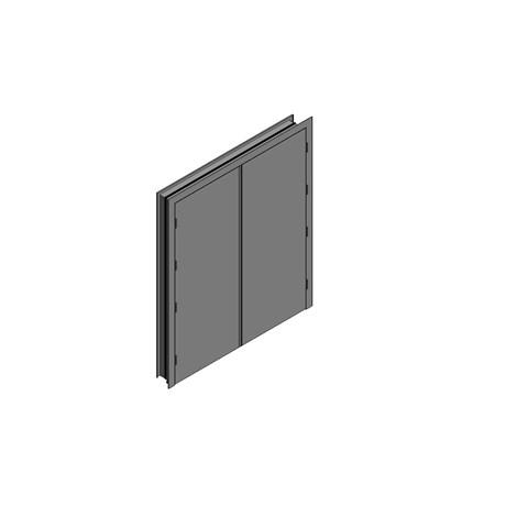 OUTA-DOR Inward Opening B - Equal Frame