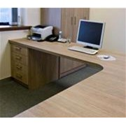 Active Health Fitted Desk L-Shaped