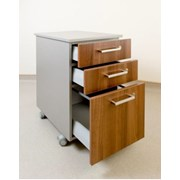 Hygenius® Mobile Pedestal Unit - Desk height mobile pedestal unit