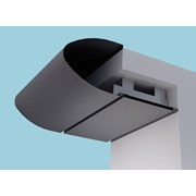 Elliptical Eaves Systems: Fascia Soffit & optional Hidden Gutter