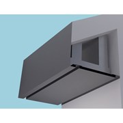 Plain Fascia Eaves Systems: Fascia Soffit & optional Hidden Gutter