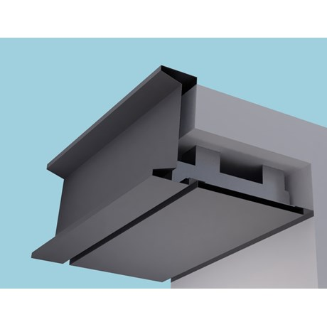 Sigma Eaves Systems: Fascia Soffit & optional Hidden Gutter