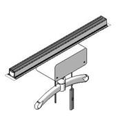 Straight A-Rail System With Hoist