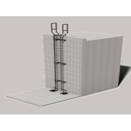Ascent Accesss Ladders - Mild Steel