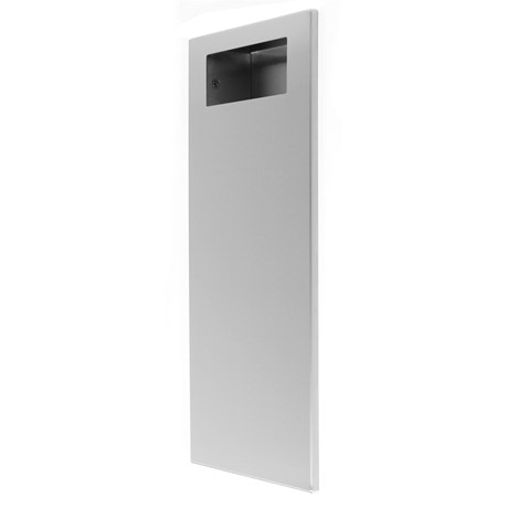 Recessed Washroom Waste Bin 18L Slimline Range 92284SS